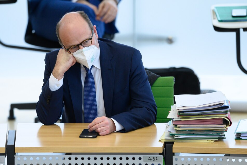 Oliver Schenk (52, CDU), Chef der Staatskanzlei in Sachsen.