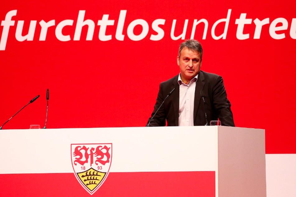 Rainer Mutschler (Foto) ist neben Claus Vogt und Bernd Gaiser das dritte Präsidiumsmitglied des VfB Stuttgart.