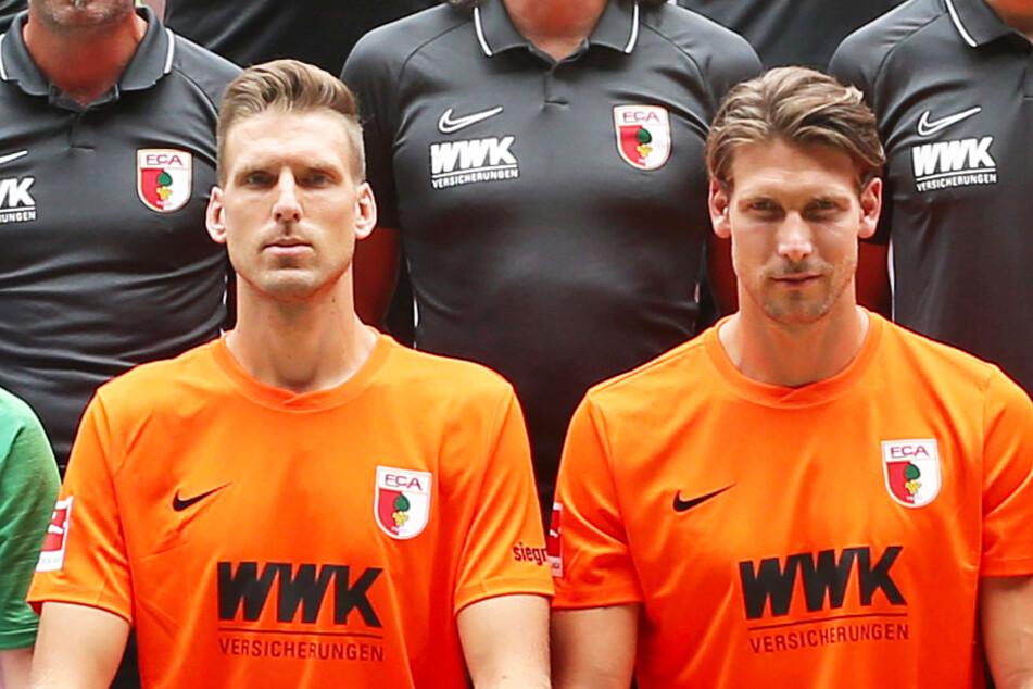 Fabian Giefer (r.) will nach seiner Karriere als Fußballprofi Rennen fahren.