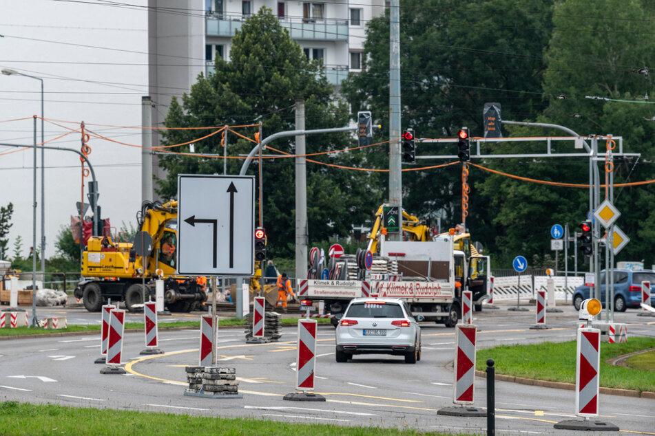 """Baustellen Chemnitz: Neue Baustelle in Chemnitz: """"Als Autofahrer ist man aufgeschmissen"""""""