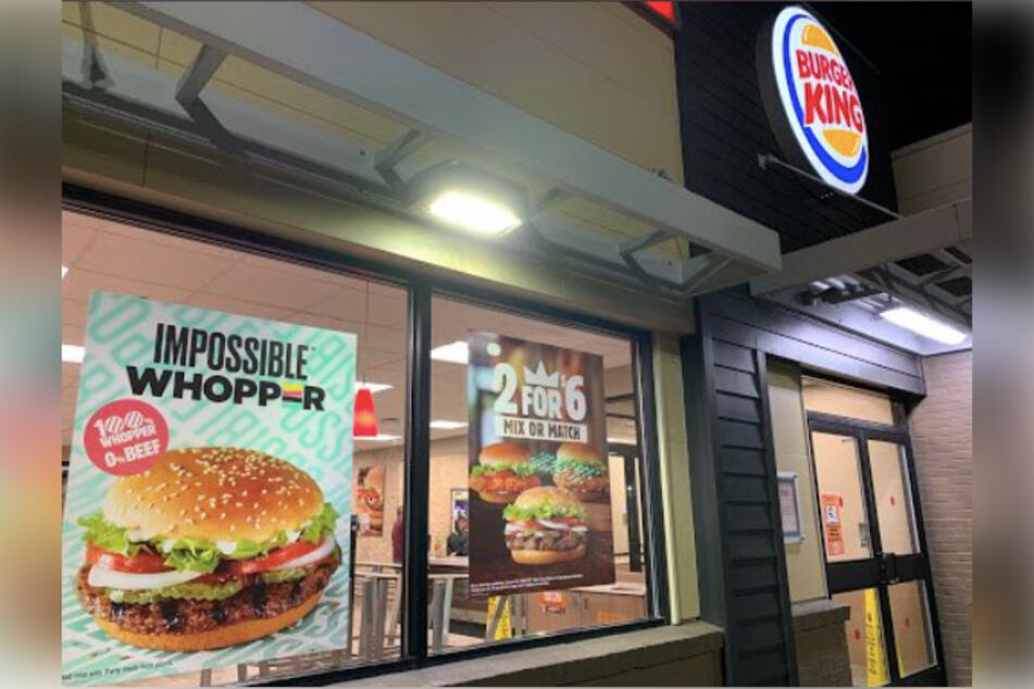 Burger King stores displayed marketing materials with pride flags in June.