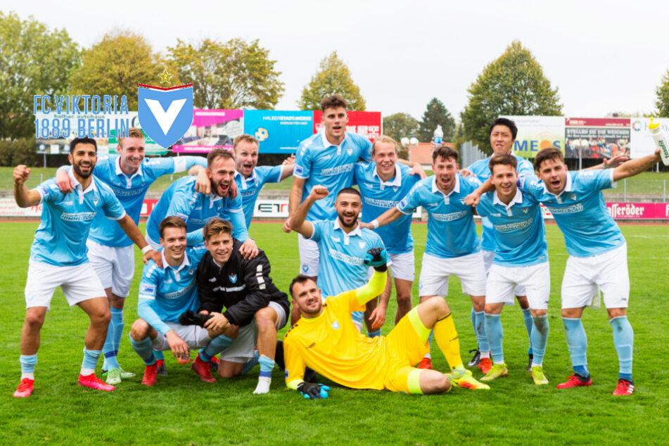 FC Viktoria 1889: Das beste Team aller Regionalligen eilt weiter von Sieg zu Sieg!