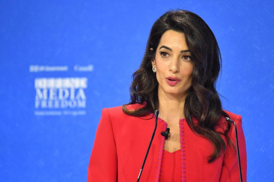 Amal Clooney, Menschenrechtsanwältin aus dem Libanon und Ehefrau des US-amerikanischen Hollywood-Stars George Clooney.