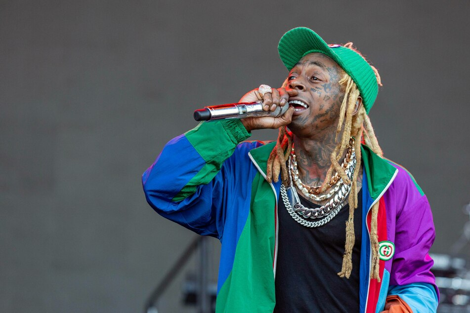 Lil Wayne in concert.