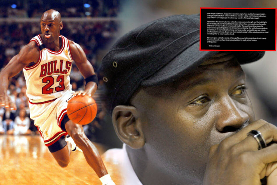 """Nach Tod von George Floyd: Basketball-Ikone Michael Jordan """"zutiefst traurig"""" über Ereignisse in den USA"""