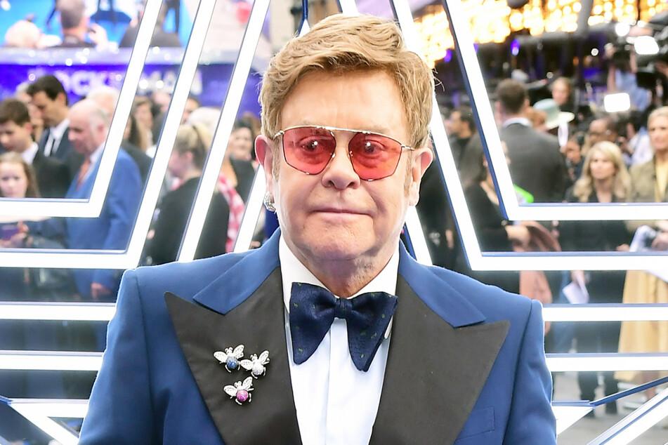 """Sir Elton John (73) bei der Premiere des britischen Films """"Rocketman"""" im Mai 2019 im Odeon Luxe Kino in London."""