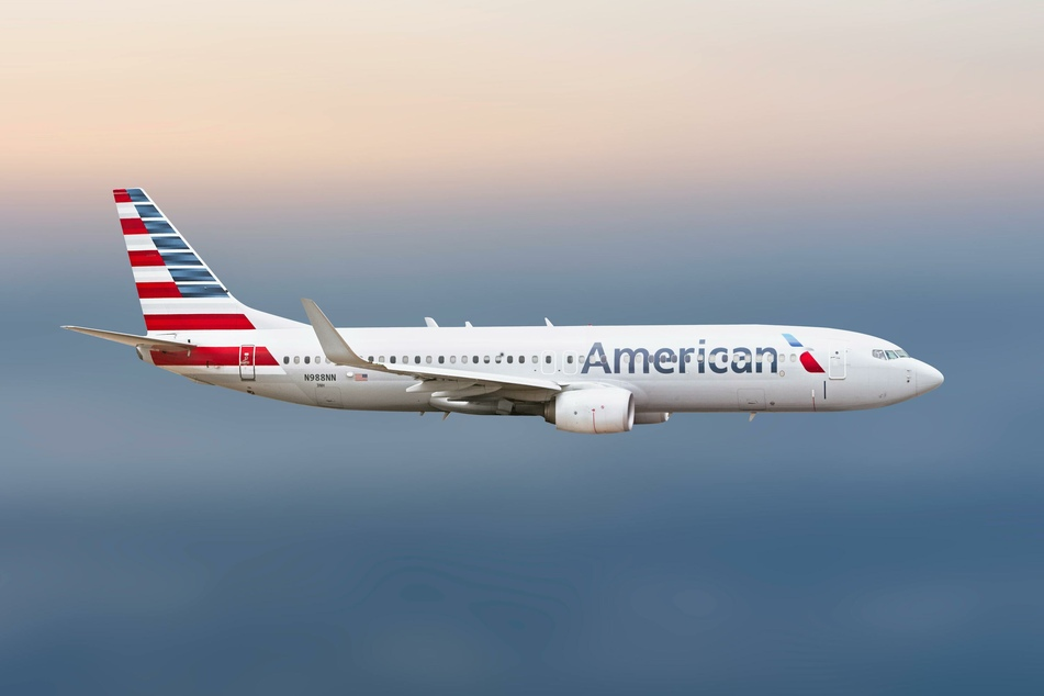 Ein Flugzeug von American Airlines.