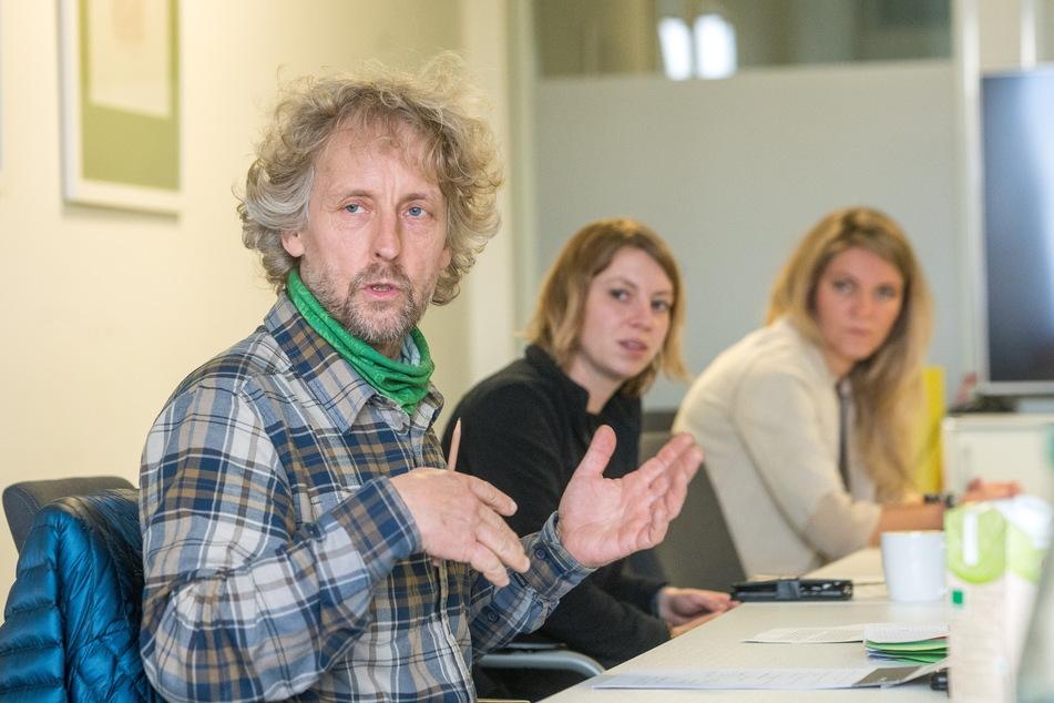 Stadtrat Torsten Schulze (51, Grüne) kämpft für die Musiker.