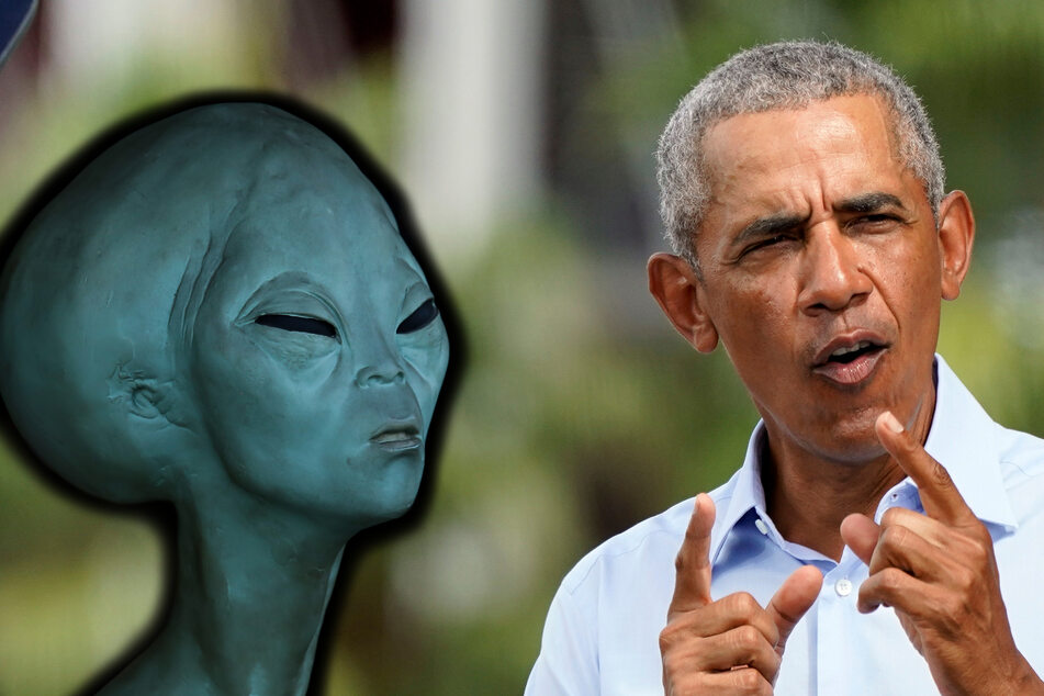 Was passiert, wenn die Menschheit auf Aliens trifft? Barack Obama hat klare Antworten