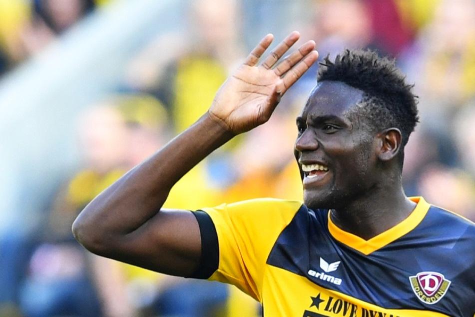 """Ex-Dynamo-Stürmer Peniel Mlapa rechnet mit SGD-Fans ab: """"Fiese und dumme Kommentare""""!"""