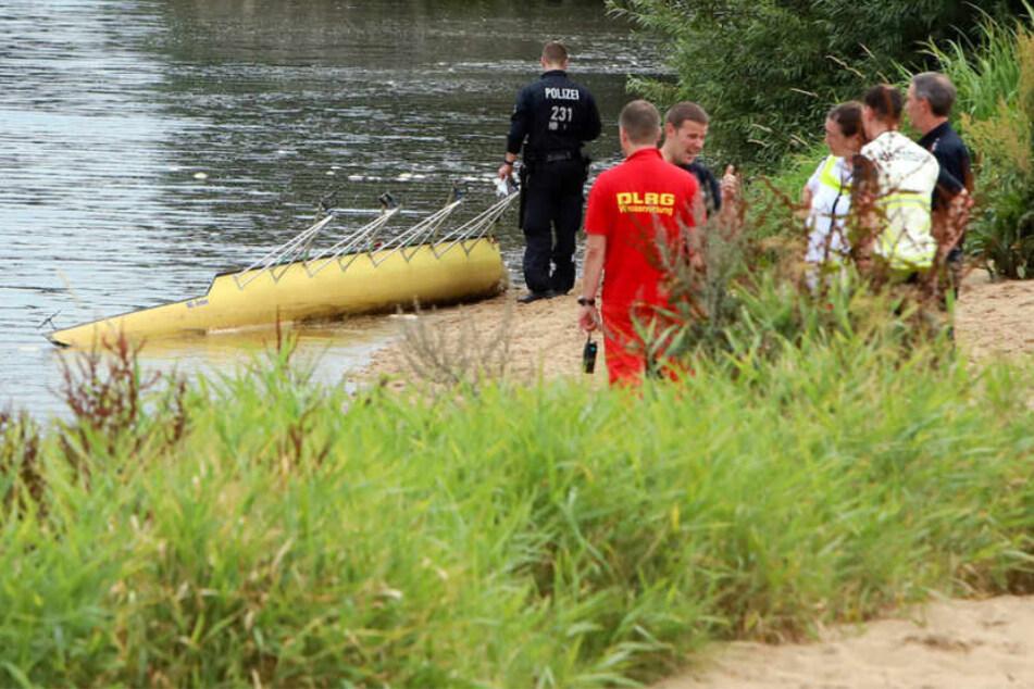 Drama auf der Weser: Schiff kracht mit Boot zusammen, Ruderer vermisst