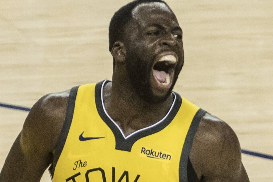 Warriors forward Draymond Green scored a triple-double during the Warriors' big win over the Pelicans on Monday night