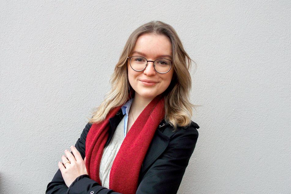 Joanna Kesicka ist die Vorsitzende des sächsischen Landesschülerrates (LSR).