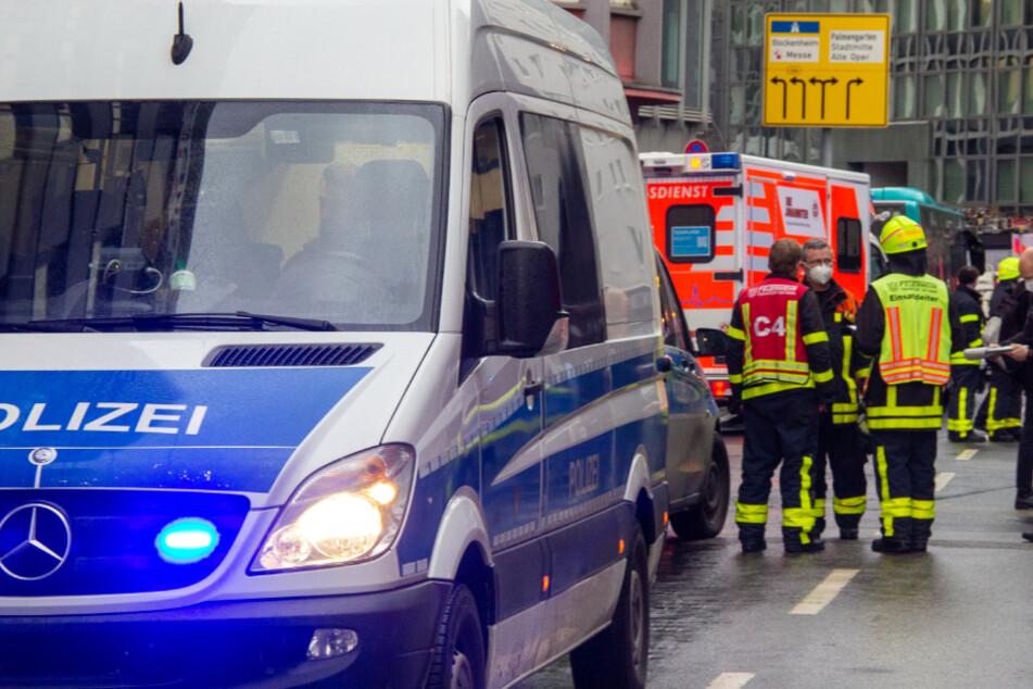 Messerattacke in Frankfurt mit Schwerverletzten: Polizei sucht wichtigen Zeugen