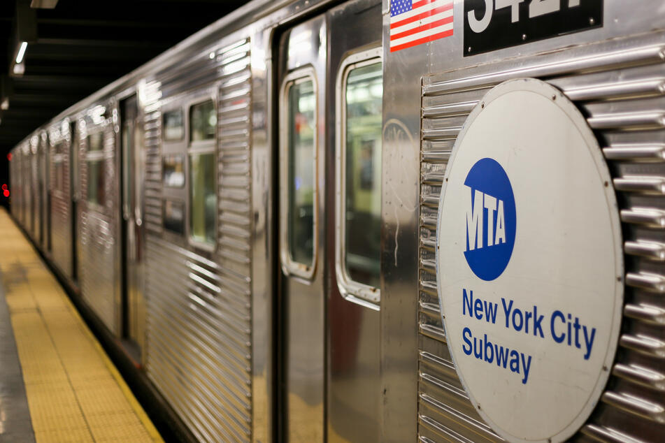 A man tried to push an Asian woman onto the tracks at a New York City subway station (stock image).