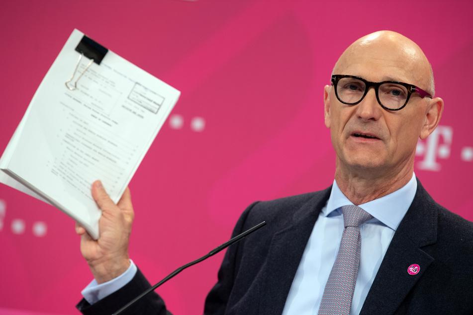Tim Höttgens, der Vorstandsvorsitzende der Deutschen Telekom. (Symbolbild)