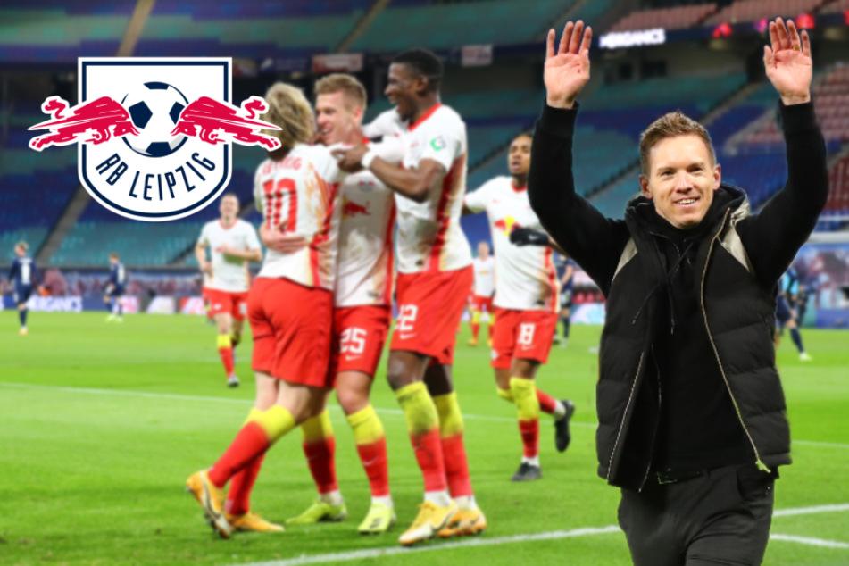 Raus mit Applaus? RB Leipzig und Nagelsmann wollen gegen Union Rekorde knacken