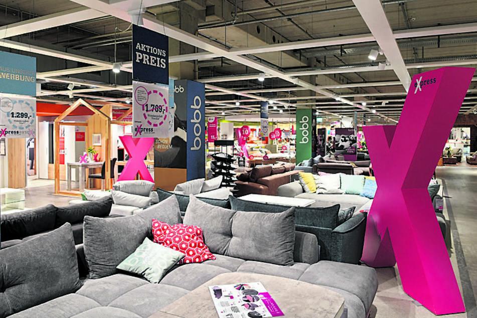 Im Gegensatz zu anderen großen Märkten müssen Möbelhäuser ihre Flächen nicht begrenzen.