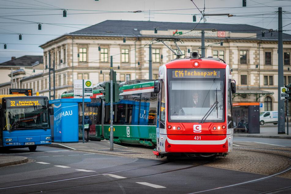 Mindestens 19 neue Chemnitz-Bahnen will der Verkehrsverbund Mittelsachsen beschaffen.
