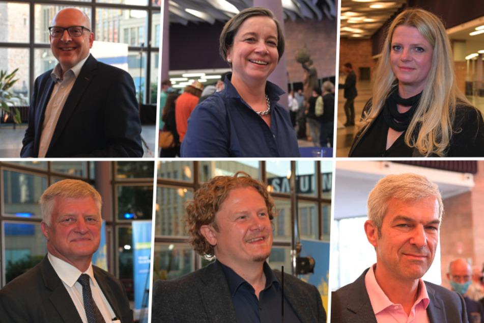 Nach OB-Wahl in Chemnitz: Das sagen die Kandidaten zum Ergebnis