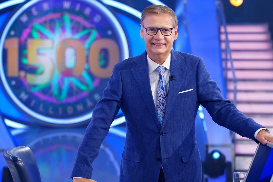 Günther Jauch (65) moderiert die RTL-Rateshow bereits seit mehr als 30 Jahren.