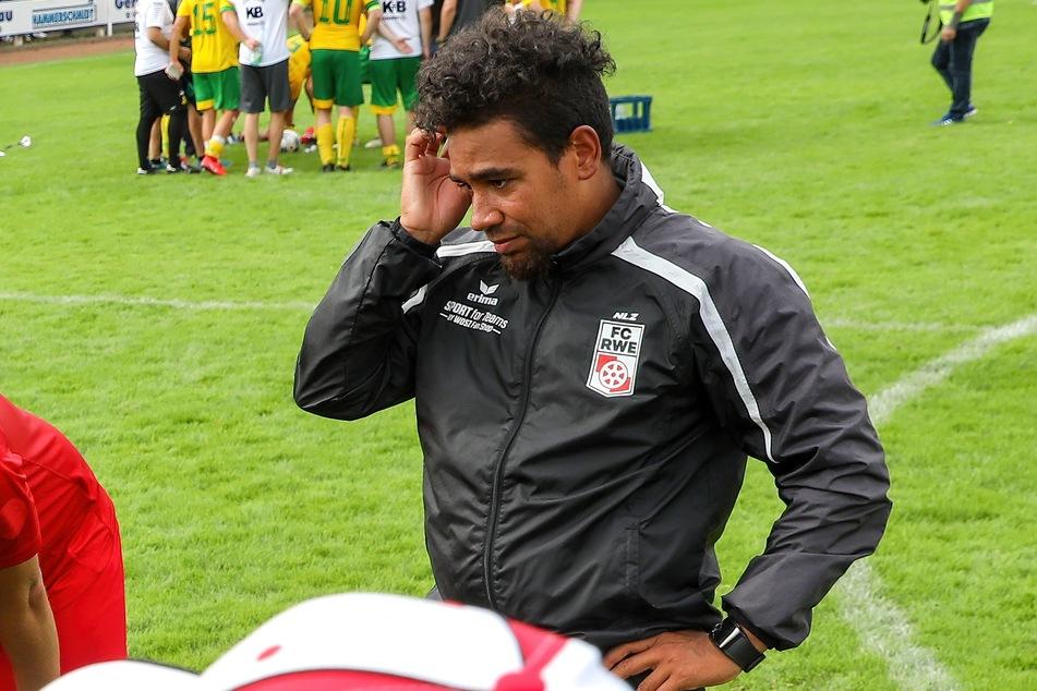 Nachdenklich: RWE-Co-Trainer Manuel Rost (31).