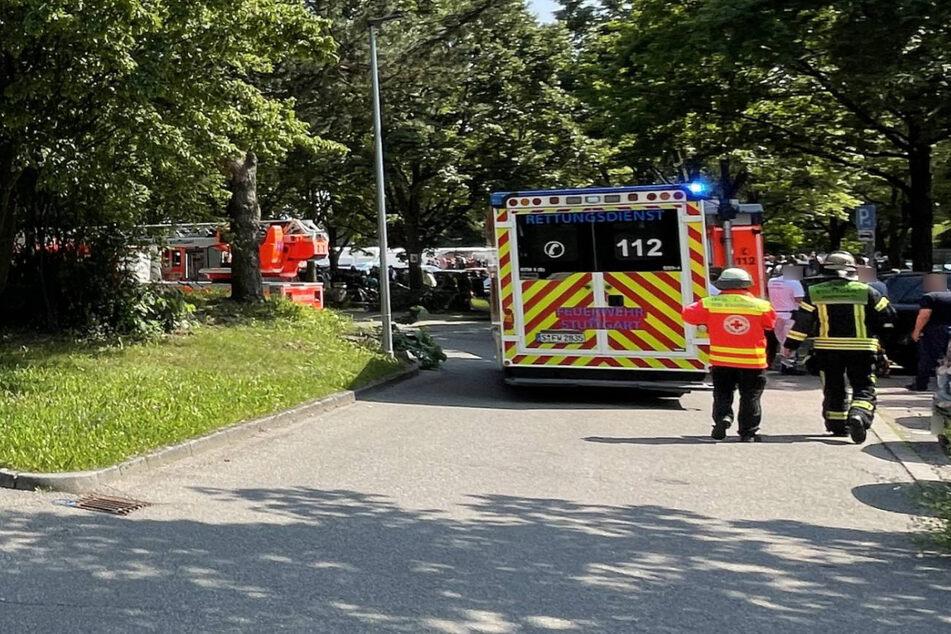 Stuttgart: Zwei Verletzte: Feuer im Geschwister-Scholl-Gymnasium