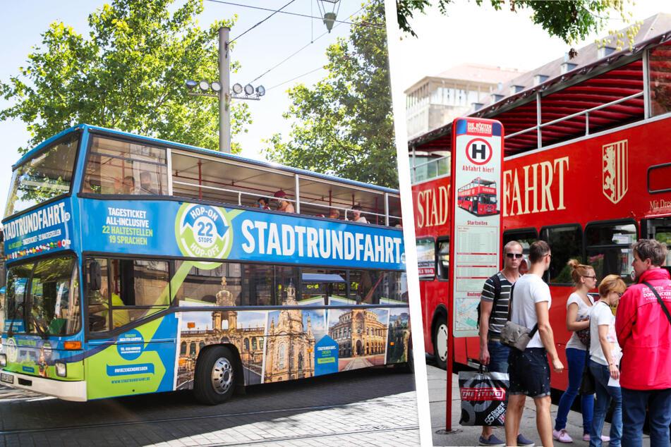 Dresden: Bus-Rundfahrten in Dresden: So knallhart kämpft die Konkurrenz um Kunden!