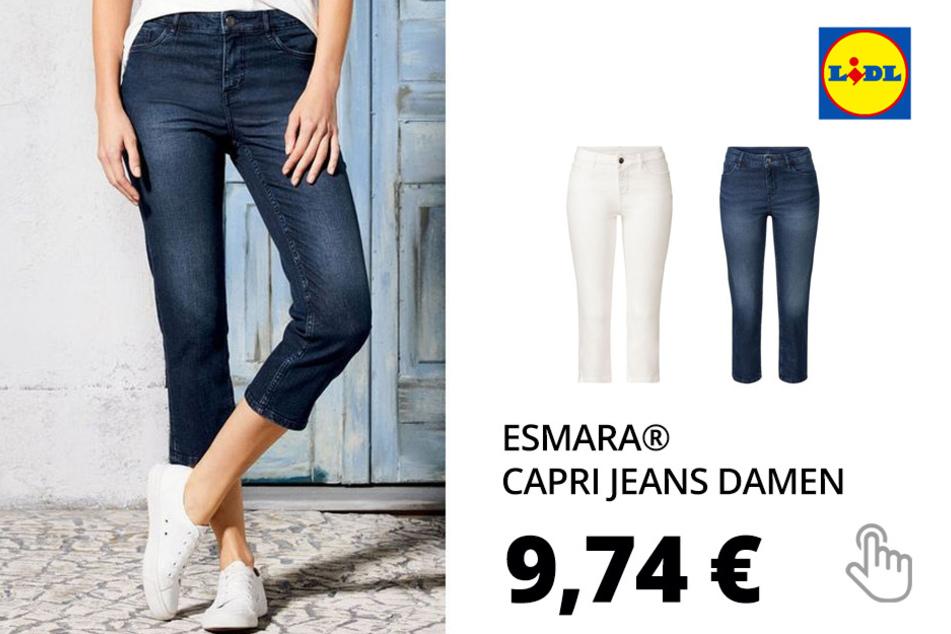 ESMARA® Capri Jeans Damen