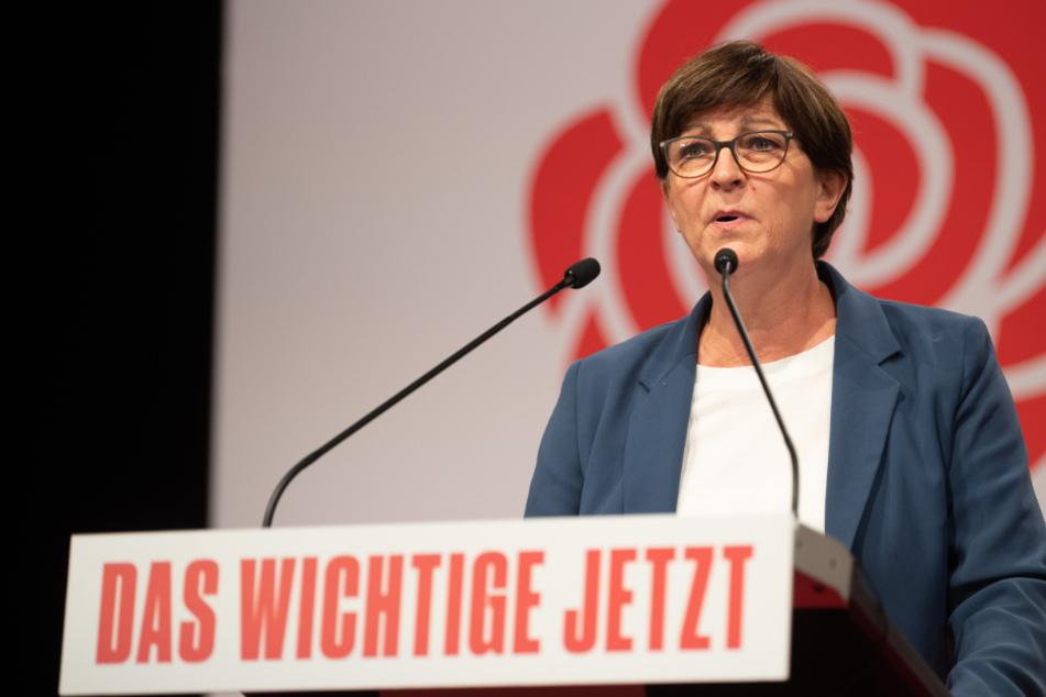 SPD-Chefin Esken sieht die Erfolgsaussichten für ihre Partei kritisch