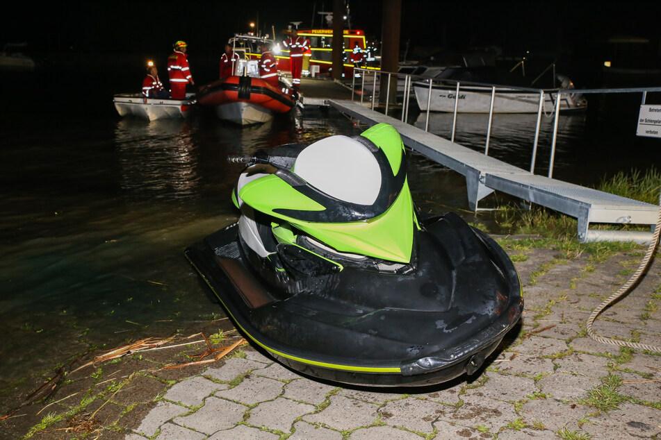 Schwerer Jetski-Unfall auf der Elbe: Opfer weiter in Lebensgefahr
