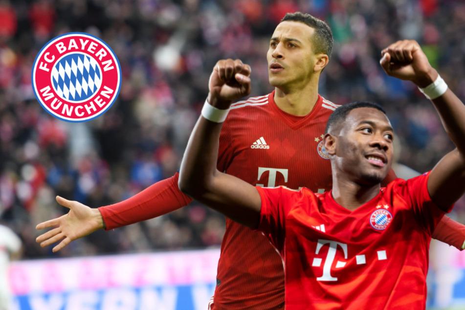 FC Bayern: Transfers von Thiago und Alaba noch immer offen