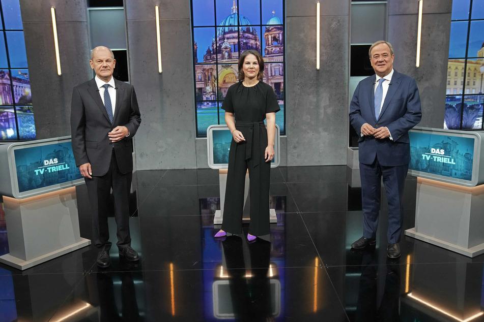 Nach dem letzten TV-Triell müssen sich die drei Kanzlerkandidaten entscheiden, ob sie auf die Einladung der Klima-Aktivisten eingehen.