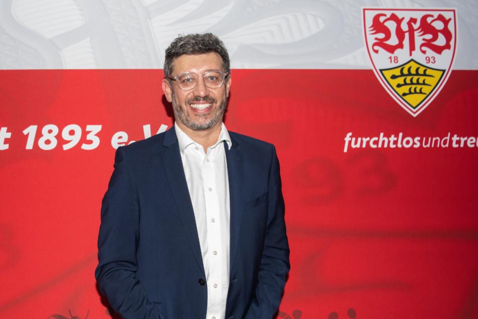 Claus Vogt, VfB-Präsident.