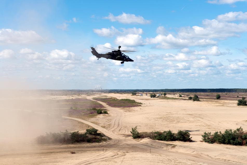 Auf dem Truppenübungsplatz Oberlausitz soll die Logistik auch für Sahel-Einsätze trainiert werden.