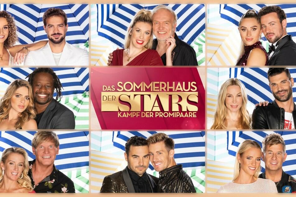 """Die Paare aus dem """"Sommerhaus der Stars"""" gehen am 5. Oktober 2021 bei RTL auf Sendung. Gleich drei Folgen pro Woche will der Sender zeigen."""