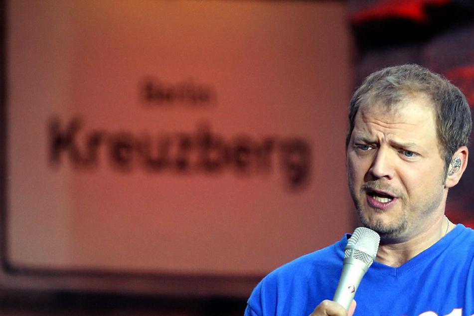 Der Comedian Mario Barth (47) zum Abschluss der Stadiontour im Olympiastadion in Berlin. (Archivbild)