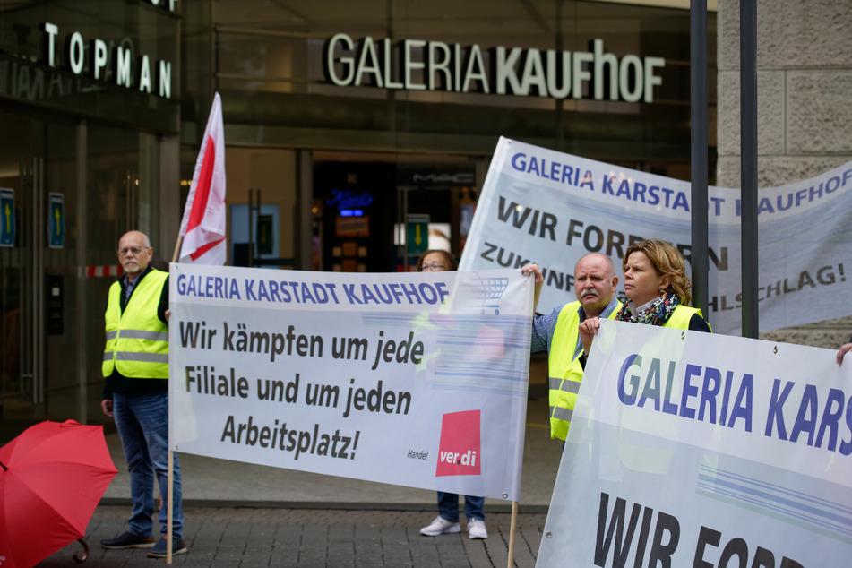 Kampf um Tausende Arbeitsplätze bei Galeria Karstadt Kaufhof: Verdi-Demo in Köln!