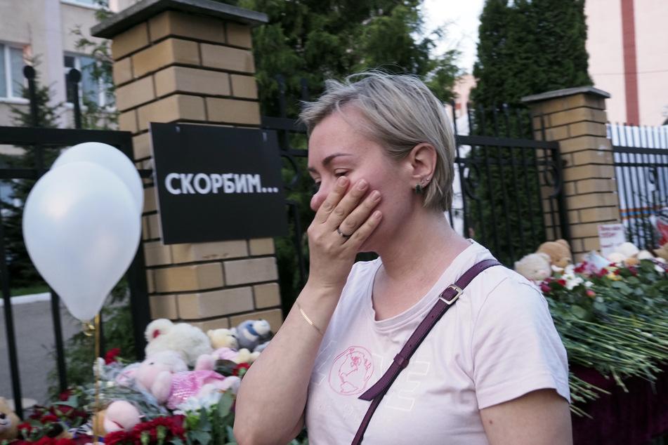 In Russland herrschen Fassungslosigkeit und Entsetzen nach der schrecklichen Tat.