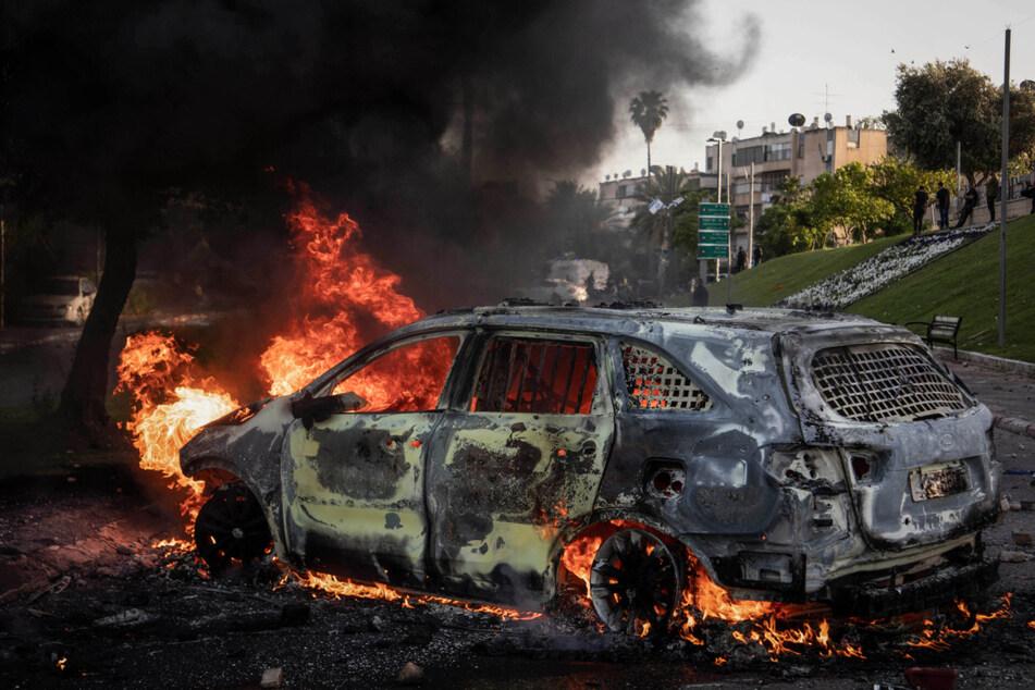 Raketenalarm in Israel: Mehrere Explosionen erschüttern Tel Aviv