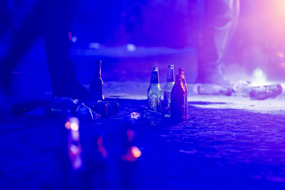 Die Polizei muss regelmäßig Partys im Volkspark Hasenheide auflösen.