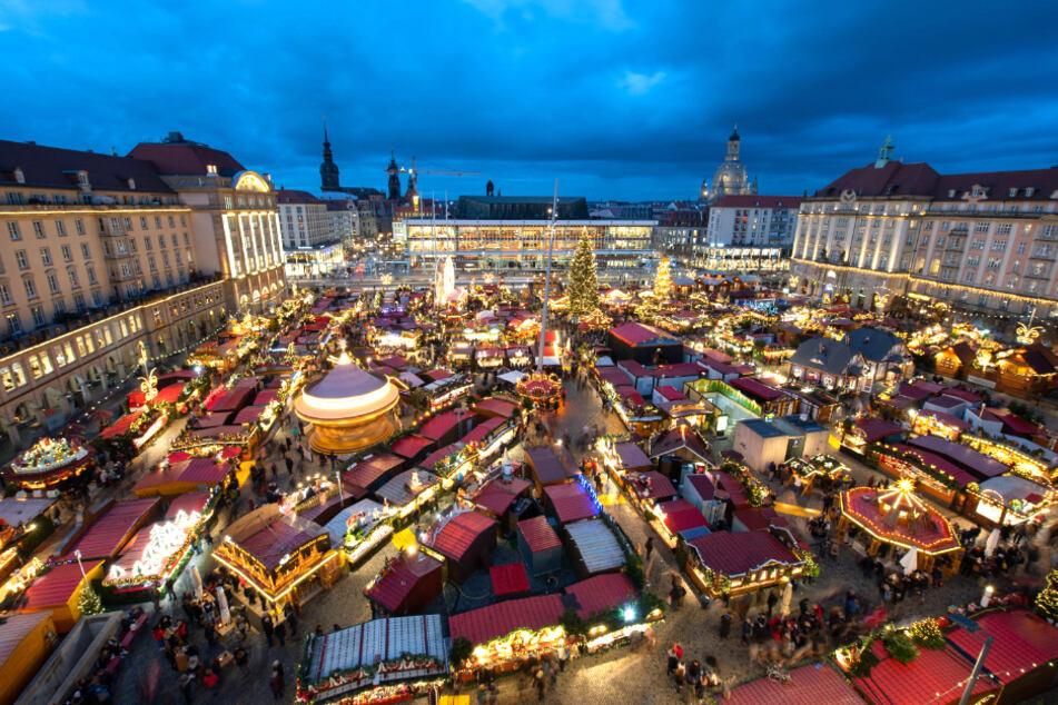 Dresden: Dresdner Striezelmarkt 2020 völlig anders als sonst