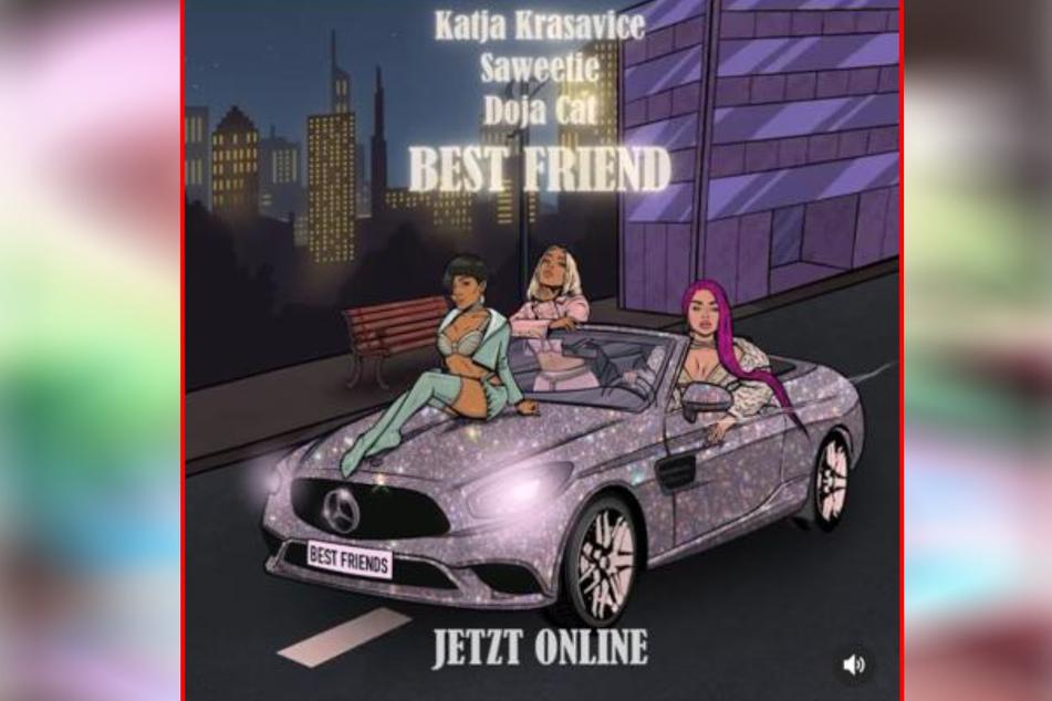 Das Original stammt von der US-Sängerin Saweetie, die den Song zusammen mit Doja Cat aufgenommen hat. Laut eigener Aussage wurde Katja gefragt, ob sie einen Remix liefern wolle.
