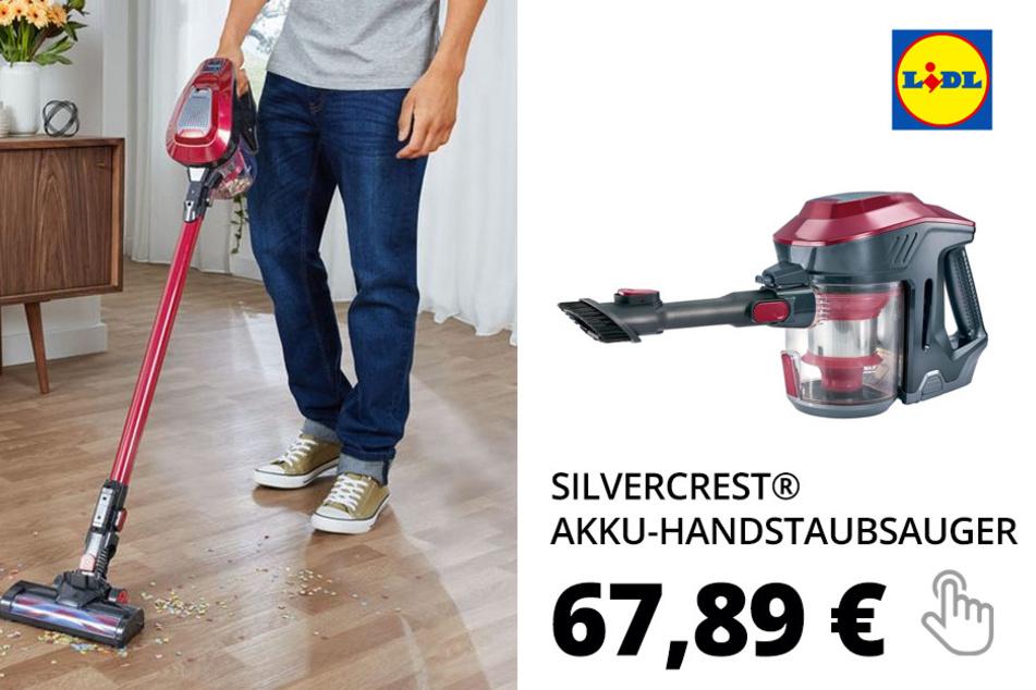 SILVERCREST® Akku-Handstaubsauger »SHAZ 22.2 D5«