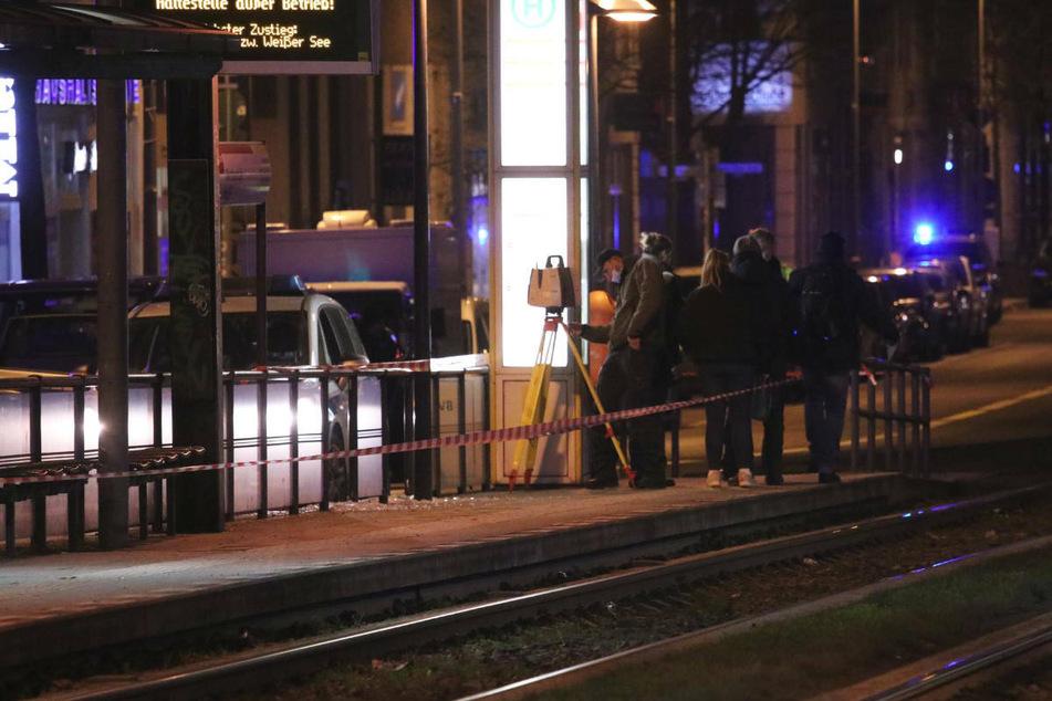 Schwerverletzter nach Schüssen an Tramhaltestelle in Weißensee