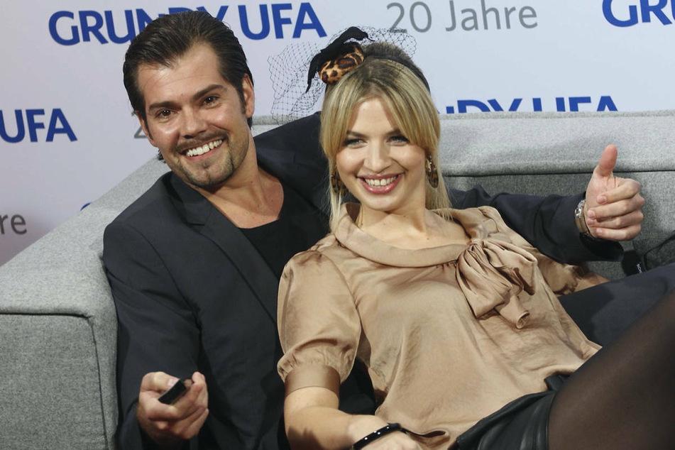 """Daniel Fehlow (46) und Susan Sideropoulos (40) bei der Jubiläums-Gala """"20 Jahre Grundy"""" im Jahr 2011 in Berlin. Sideropoulos gibt nach zehn Jahren ihr Comeback im GZSZ-Kosmos. (Archivfoto)"""