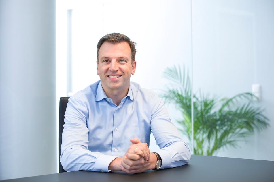 Tomas Peeters ist der Chef des Online-Portals Baufi24.