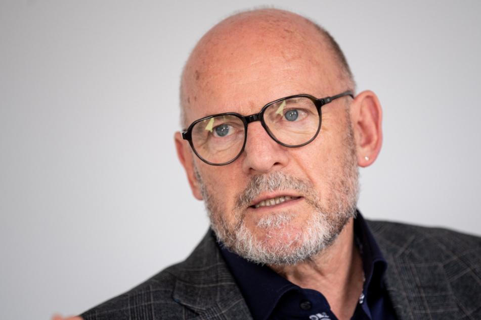 Der Verkehrsminister von Baden-Württemberg, Winfried Hermann (68, Grüne).