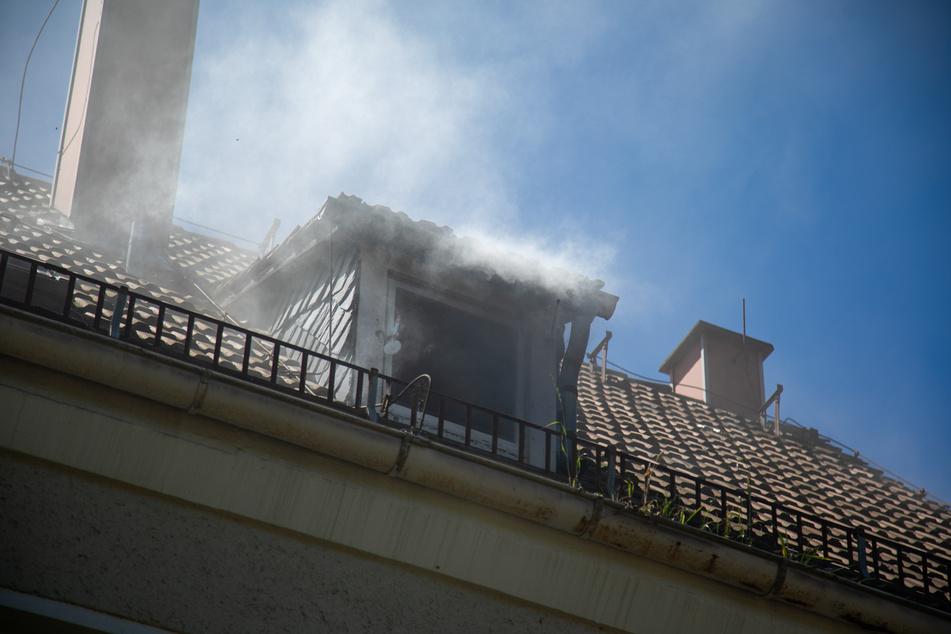 Was fackelt denn da? Die Rauchschwaden waren nicht zu übersehen.