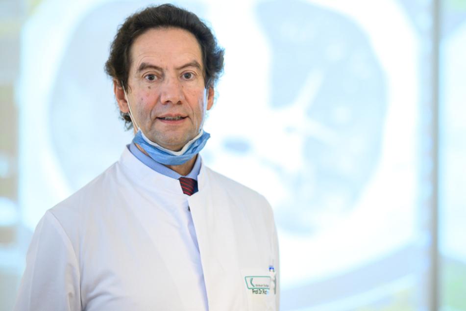 Götz Martin Richter, Ärztlicher Direktor der Klinik für Diagnostische Interventionelle Radiologie.